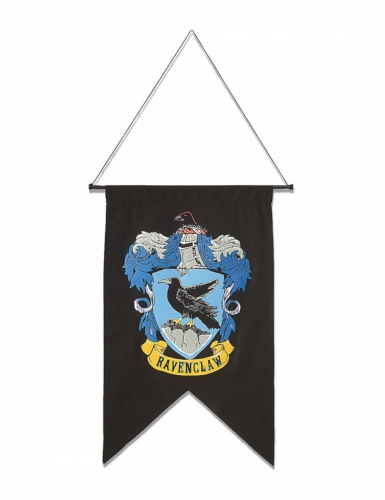 Ravenclaw-Standarte Harry Potter™-Raumdeko schwarz-bunt