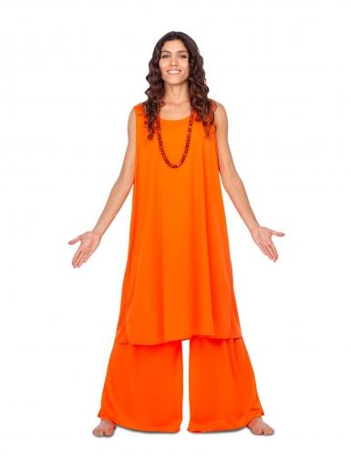 Religiöses Kostüm für Damen Faschingskostüm orange