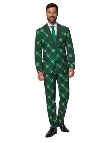 Mr. Shamrock-Kostüm für Herren Opposuits™ St. Patrick's Day grün