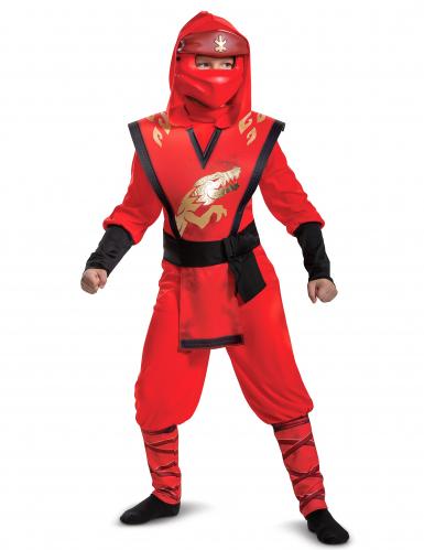 Kai LEGO™ Ninjago™-Legacy-Kostüm für Jungen Faschingskostüm rot-schwarz