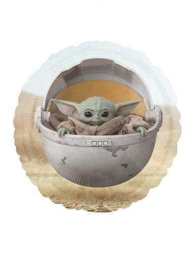 Baby Yoda-Aluminiumballon Star Wars: The Mandalorian™ bunt 43 cm