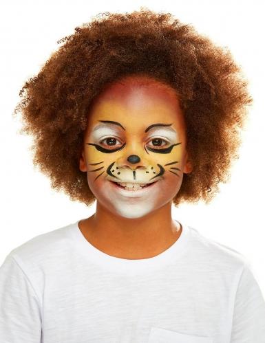 Löwen-Schminkset für Kinder mit Accessoires bunt