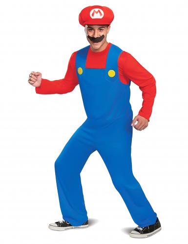 Nerdiges Super Mario™ Lizenzkostüm für Herren bunt