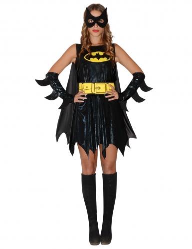 Offizielles Batgirl™-Damenkostüm schwarz-gelb