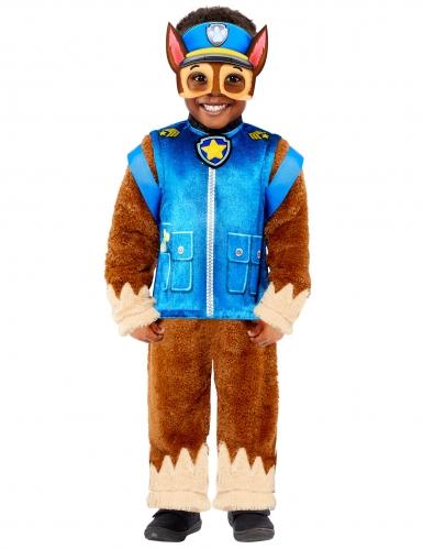 Chase™-Kostüm für Kinder offiziell Paw Patrol™ blau-braun-gelb