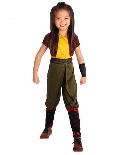 Offizielles Raya™-Kostüm für Mädchen Raya und der letzte Drache™ grün-braun-gelb