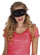Klassische Augenmaske Karnevalsmaske schwarz