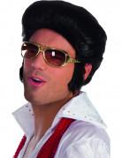 Elvis Brille Kostümzubehör Lizenzartikel gold