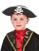Kinderhut Pirat schwarz-gold