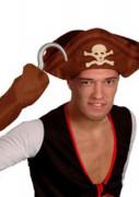 Piratenhaken-Set Kostümaccessoire für Erwachsene