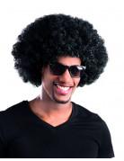 Funky Disco Afro Perücke schwarz