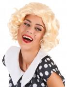 Marilyn Damen-Perücke Locken blond