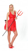 Verführerische Teufelin Halloween-Damenkostüm