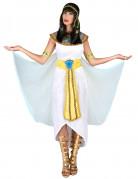 ägypterin Kostüm ägyptische Königin weiss-gold-blau