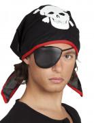 Piraten Kostümset für Kinder schwarz-rot-weiss