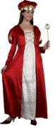 Mittelalterliche Prinzessin Damenkostüm
