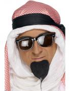 Araber Scheich Bart Kostümzubehör schwarz