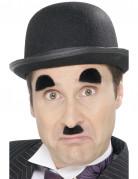20er-Jahre Augenbrauen und Bart Set schwarz