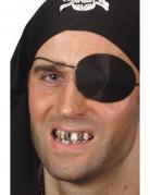 Zahnlack Zahn-Schminke schwarz