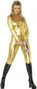 Catsuit Kostüm gold