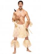 Zulu Krieger Kostüm beige