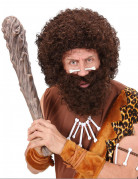 Knochen-Piercing für die Nase Höhlenmenschen-Kostümzubehör weiss