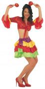 Rumbatänzerin Damenkostüm Karneval