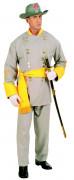 Südstaaten General Kostüm beige-gelb
