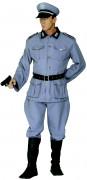 Deutscher Soldat Kostüm grau-schwarz