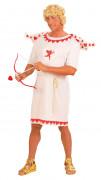 Amor Eros Liebesgott Herrenkostüm weiß-rot