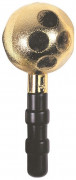 Maraca Party-Musikinstrument gold