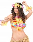 Kostüm Set Hawaii Strandschmuck bunt