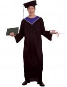 Uniabsolventen-Herrenkostüm schwarz