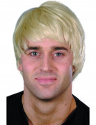 Boyband Herrenperücke Deluxe blond