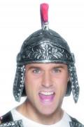 Römer Helm Antike silber-rot