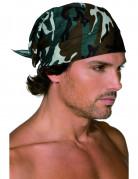 Bandana-Tuch mit Tarnungsmotiv Erwachsene camouflage