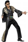Elvis Presley™ Kostüm Herren schwarz-gold