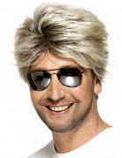 80er Jahre Perücke Föhnfrisur blond