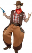 Cowboy Kostüm braun