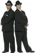 Blues Brothers Kostüm Original schwarz-weiss