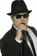 Blues Brothers Brille Kostümzubehör schwarz