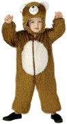 Bär Kinder-Kostüm braun
