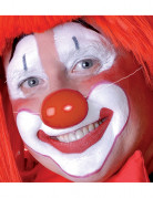 Clown-Nase Kostüm-Zubehör klein rot