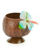 Kokosnuss-Becher Hawaii-Becher braun
