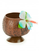 Kokosnuss-Becher Hawaii-Becher braun