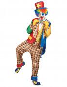 Lustiger Clown Karneval-Herrenkostüm bunt