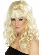 Damenperücke 60er Jahre Retrolook blond