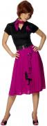 50er Jahre Kleid pink