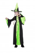 Langes Hexenkleid für Kinder