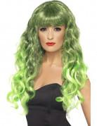 Schillerlocken Perücke Kostüm-Zubehör grün